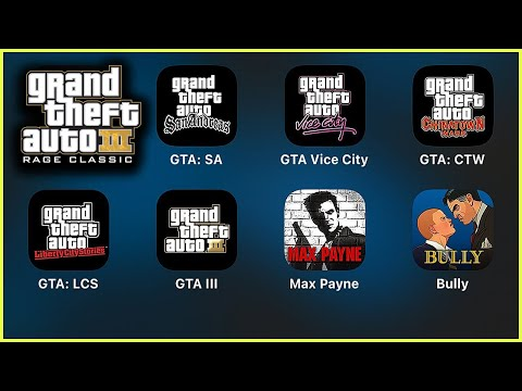 GTAV Manual,GTA San Andreas,Vice City,Chinatown Wars,Liberty City Stories,Max Payne,Bully,Rockstar