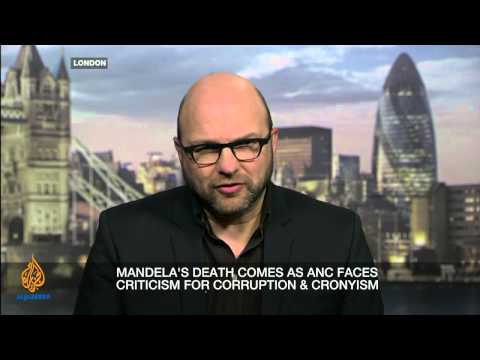 now - As South Africans celebrate the life of Nelson Mandela, we examine his legacy and ask how closely it is tied to the ANC. Stephen Cole, discusses with guests:...