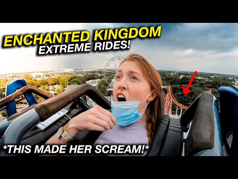 British Couples First Time at ENCHANTED KINGDOM (Most EXTREME Rides In Philippines!)