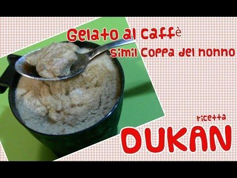 coppa del nonno dietetica senza gelatiera - gelato al caffè
