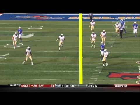 Trey Watts 54-yard touchdown punt return vs Central Florida 2012 video.