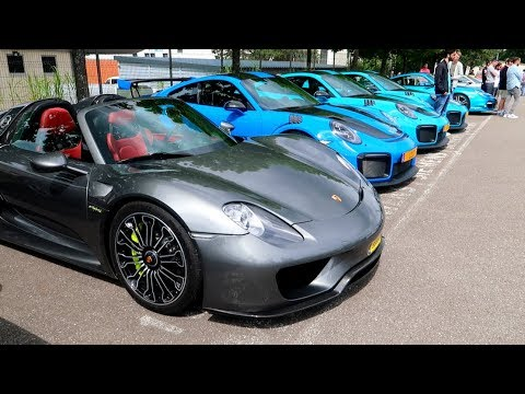 Cars & Coffee Luxembourg! 4 Nouvelles Porsche GT2 RS!!