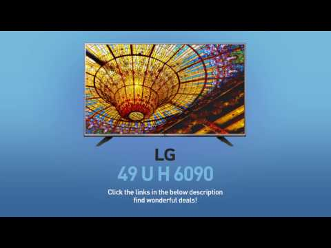 LG 49UH6090 4K UHD Smart LED TV - 49