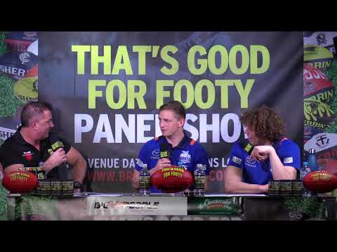 "Footy Show ""that's Good For Footy"" Presents Footy Funatics "" Ep 19 August 1st Nth Melb"
