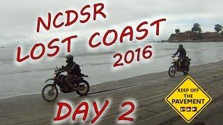 10. NCDSR Lost Coast Trip 2016 Day 2 - KOTP - Dual Sport Ride Report