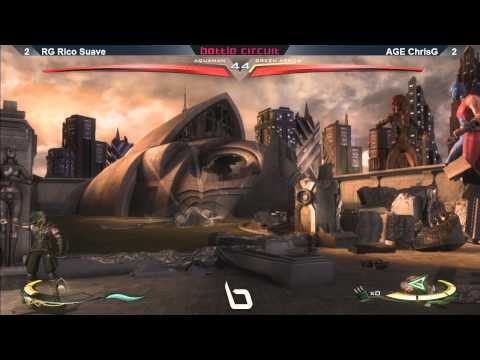 Injustice @ Nlbc #42 - Rg Rico Suave Vs Age Nychrisg - Grand Finals