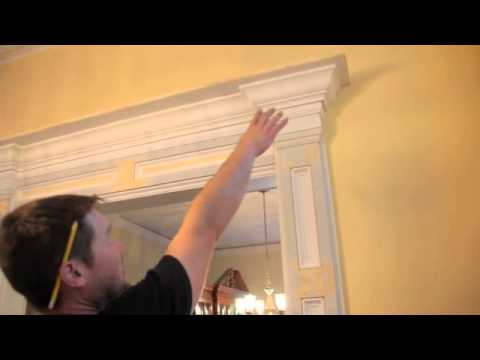 Entryway Custom Home Makeover