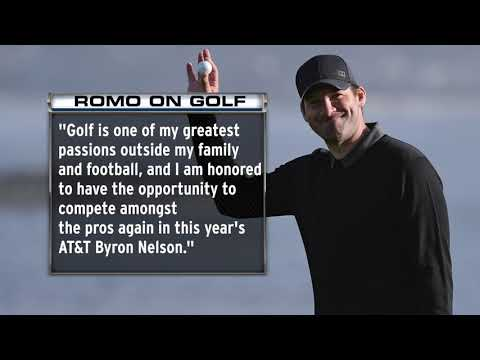 Video: Tony Romo To Participate In Second Career PGA Tour Event