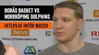 Christian Maråker pratar inför toppmötet med Dolphins