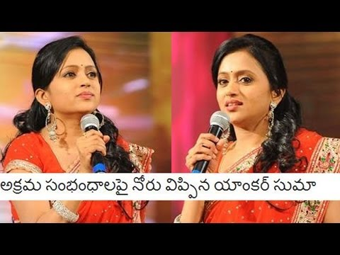 Anchor Suma Tongue Slip on Illegal Affairs