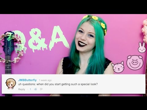 Q&A #1 (Pastel Goth, Hair, Music, Tattoos)