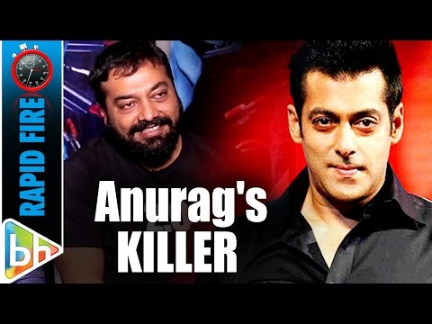 Anurag Kashyap's KILLER Rapid Fire On Pahlaj | SRK | Modi | Salman