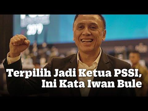 Terpilih Jadi Ketua PSSI, Ini Kata Iwan Bule