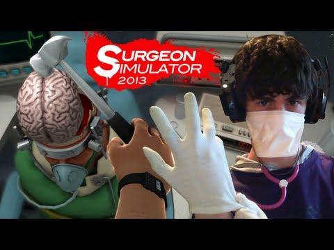 IL TRAPIANTO DI CERVELLO PIU' EPICO MAI VISTO!! - Surgeon Simulator 2013 - Parte 3