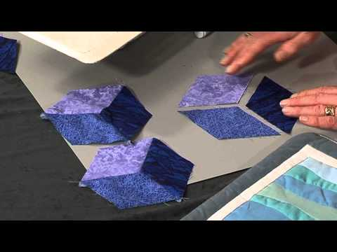 How to sew an inset or Y seam - Taster video