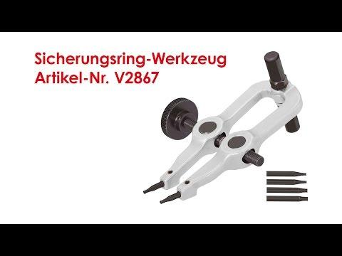 ViGOR Sicherungsring-Werkzeug V2867