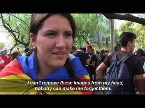 Референдумът в Каталония доведе до стачки и полицейско насилие