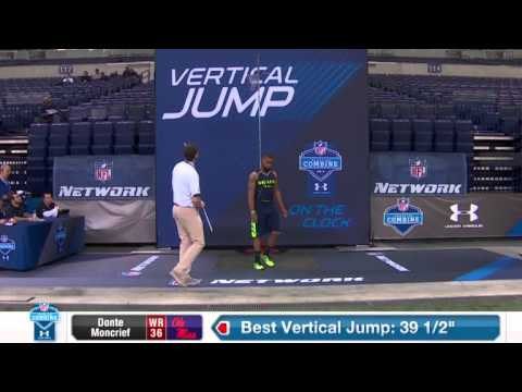 Donte Moncrief at NFL Combine