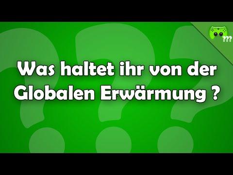 Was haltet ihr von der Globalen Erwärmung ? - Frag PietSmiet ?!