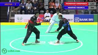Video Pencak Silat Men's Tanding Class C : LAO vs INA | 18th Asian Games Indonesian 2018 MP3, 3GP, MP4, WEBM, AVI, FLV Februari 2019