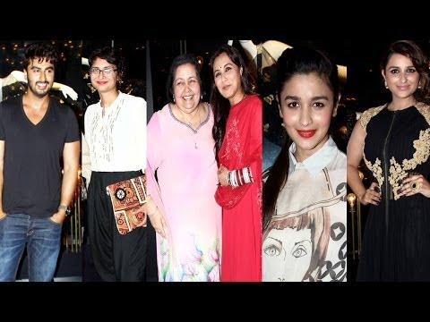 Rani Mukherjee ,Parineeti ,Arjun & Others attend the launch of YRF fashion line