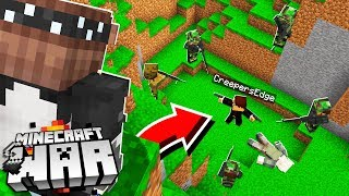 this Minecraft AMBUSH should have ended badly.. but someone was WATCHING! (Minecraft War #10)