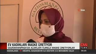 Patentini Aldığımız Özel Tasarım Yıkanabilir Kumaş Maskelerin Üretimi - Cnn Türk