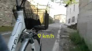 Test Bike Crystal - salita al 17 %