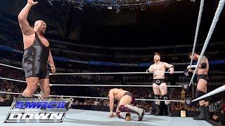 Six-Man Tag Team Match: SmackDown, April 9, 2015