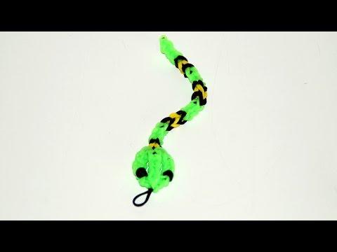 Loom Bandz – Rainbow Loom – Schlange, Anleitung deutsch