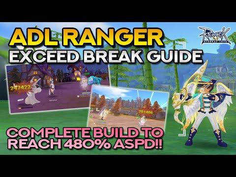 ADL RANGER EXCEED BREAK GUIDE: Stats, Skills, Runes, Equipment, Cards + Tips