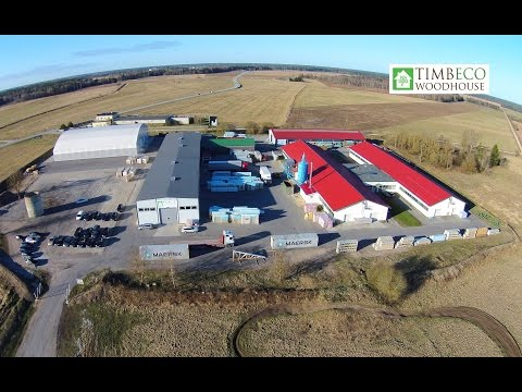 Timbeco introduction – production of prefab elements and element houses
