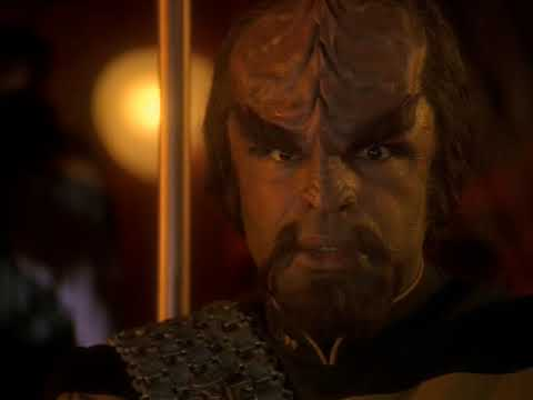 """Those Were The Good Years""  Lt. Commander Worf"