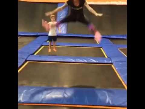 Vídeos engraçados - Gael o voador