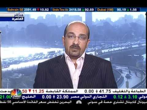 احمد شحاتة  البورصة المصرية ahmed shehata