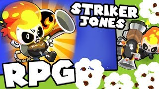 Bloons TD 6 - Striker Jones - Fully Maxed Out Hero | JeromeASF