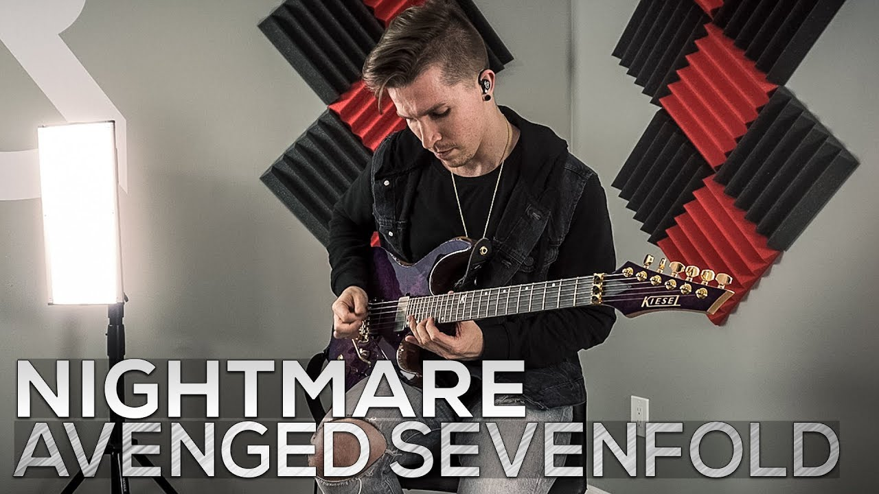 Avenged Sevenfold – Nightmare – Cole Rolland (Guitar Cover)