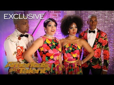 Salsa Dancers Reyes Del Swing Live Out Their American Dream - America's Got Talent 2018 (видео)