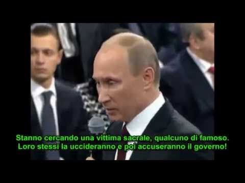 putin aveva previsto l'uccisione di boris nemtsov nel 2012!