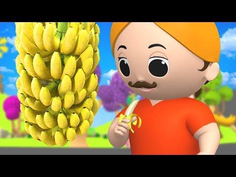 Lala Ji Ne Kela Khaya - Hindi Nursery Rhymes for children | लाला जी ने केला खाया Hindi Rhymes