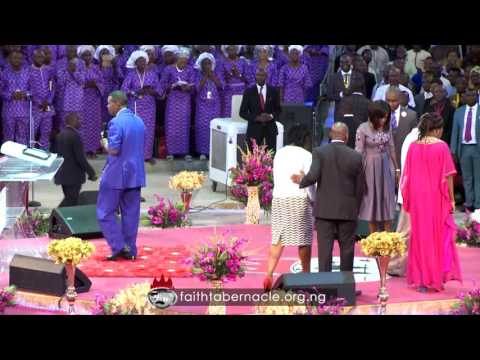 Pastor E.A Adeboye Ministration At Winners Chapel (Living Faith Church Worldwide) 35th Anniversary