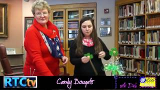 At Your Library Creative Corner- Candy Bouqets