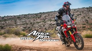 3. 2016 Africa Twin - Ride Review
