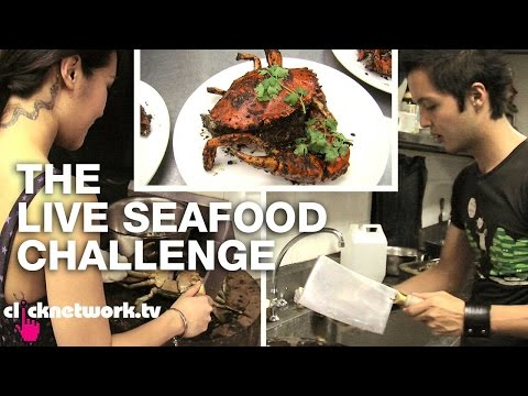 The Live Seafood Challenge - Chick vs. Dick: EP80 (видео)