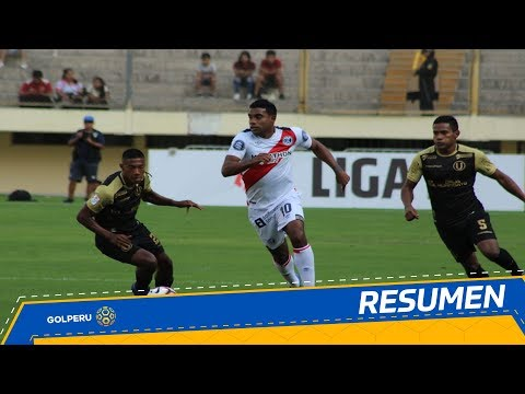 Resumen: Universitario Vs. Deportivo Municipal (2-4)