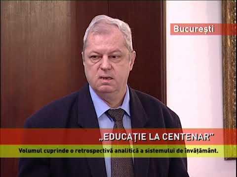 "Volumul ""Educația la Centenar"", lansat la Academia Română"