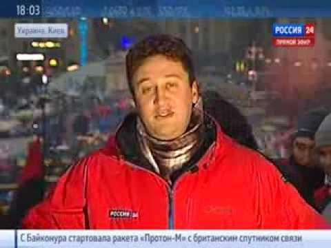 """Репортеру Вестей в прямом эфире вручили """"Оскар"""" за"""