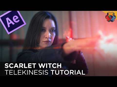 SCARLET WITCH Telekinesis In After Effects
