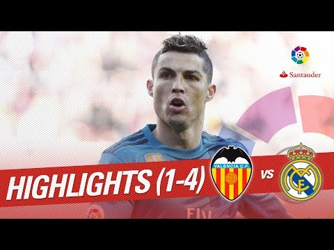 Resumen de Valencia CF vs Real Madrid (1-4)