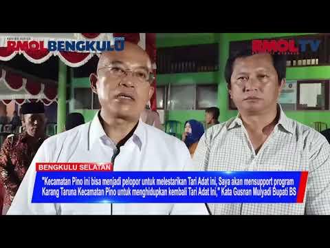 Hidupkan Tari Andun, Bupati Dan Sekda Support Karang Taruna Kecamatan Pino